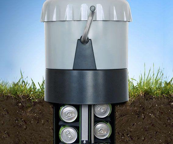 Underground Beer Cooler - https://interwebs.store/underground-beer-cooler/ #AlcoholicGear, #GiftsForMen