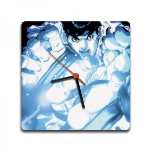 Relógio Quad. Hadouken Ryu