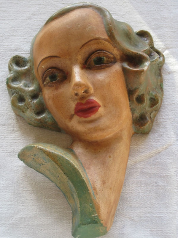 144 Best Images About Art Deco Wall Masks And Ceramic