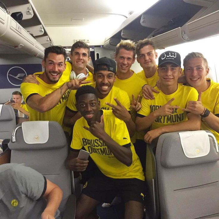 The boys on their way to China - Preseason 2016/17 Borussia Dortmund