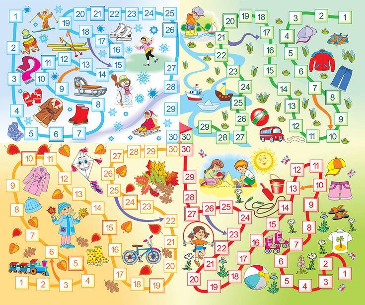 Настольные игры для детей 3-4 года своими руками