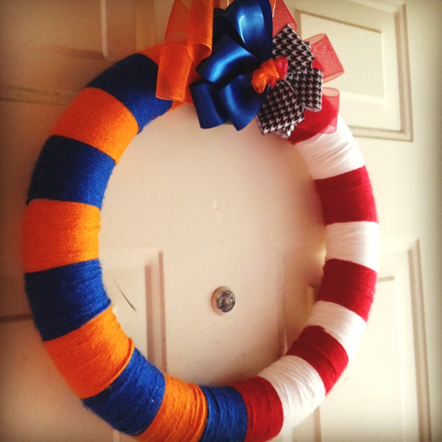 House divided wreath!
