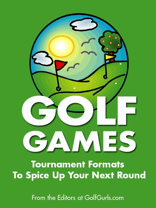 """Are you looking for some fun tournament formats for your golf league or charity event this season? """"Golf Games: Tournament Formats To Spice Up Your Next Round"""" is filled with some great ideas to get you started planning an unforgettable tournament! From the Editors at GolfGurls.com  -  Available in both print and kindle editions on Amazon.com: http://www.amazon.com/dp/1493574256/ref=rdr_ext_tmb"""
