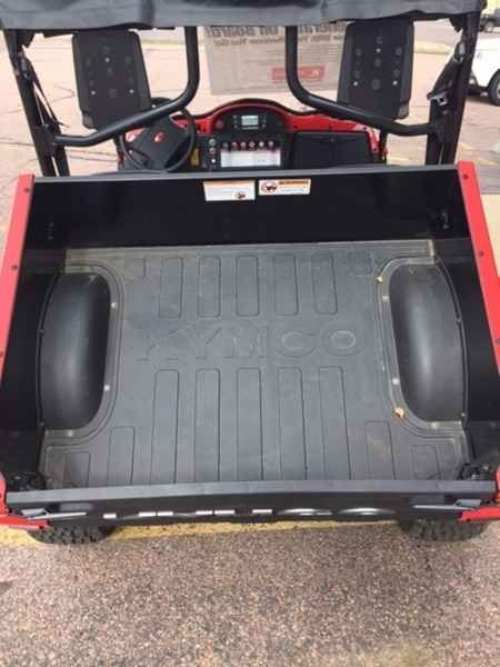 New 2015 Kymco UXV 500i G ATVs For Sale in South Dakota. 2015 KYMCO UXV 500i G, Save $3,500 on this Demo unit Save an additional $250 during our Armed Forces Appreciation Sale. This includes Armed Forces, Law Enforcement, Firemen, Emergency Medical Technicians and Paramedics. Covers all active, retired, and honorably discharged personnel. 2015 Kymco UXV 500i G The totally innovative, one of a kind - KYMCO UXV 500i G combines all the features and benefits of our go-anywhere, recreational UXV…