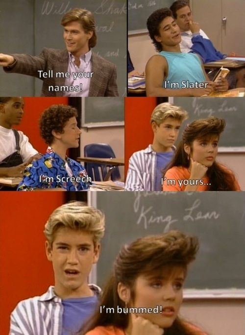 I could watch *saved by the bell* all day everyday!!! (& fresh prince of belair)