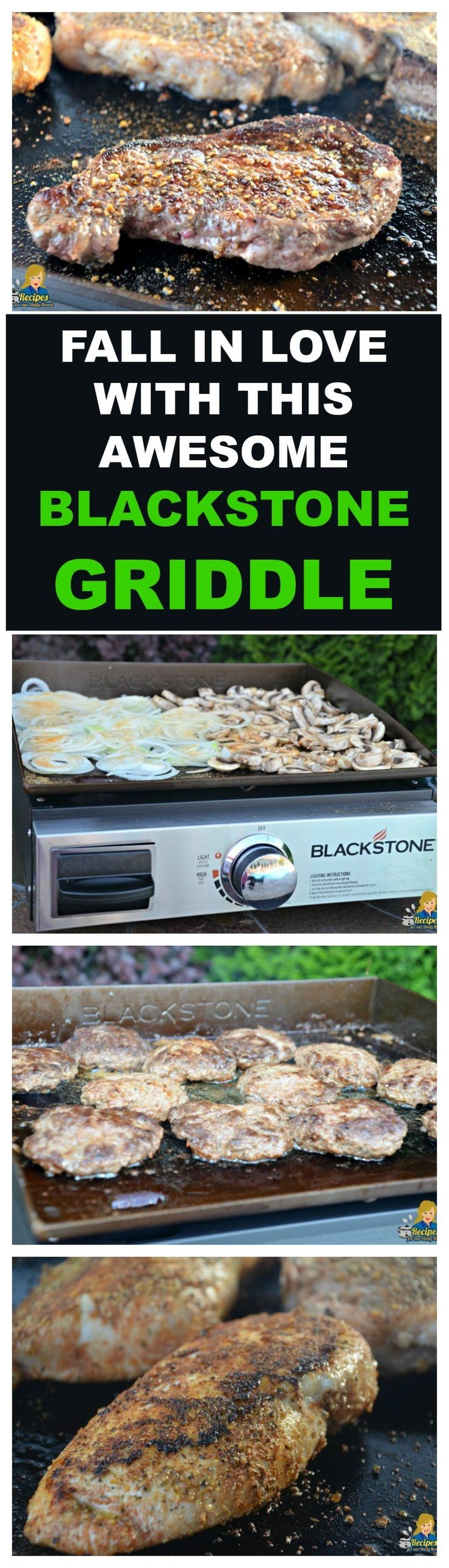 FALL IN LOVE WITH THIS AWESOME BLACKSTONE GRIDDLE