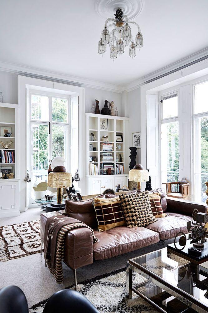 THE ECLECTIC LONDON HOME OF DESIGNER MALENE BIRGER
