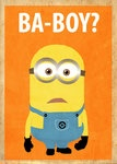 Despicable Me Minion Poster by ~Procastinating on deviantART