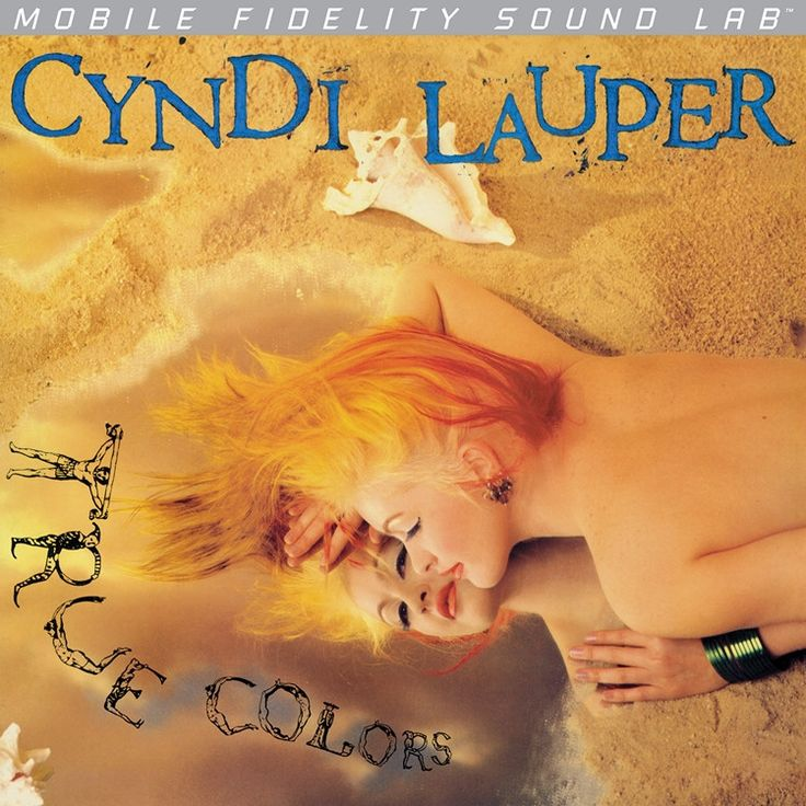 Cyndi Lauper - True Colors on Numbered Limited Edition LP from Mobile Fidelity Silver Label