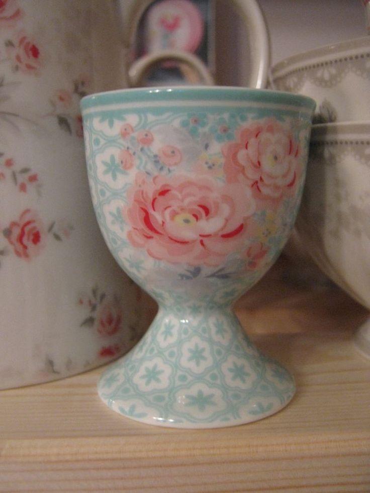 portauova greengate egg cup lulumint  H .6,5 cm