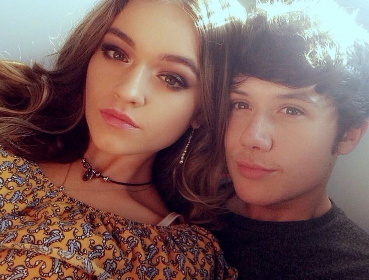 Emily Middlemas and Ryan Lawrie