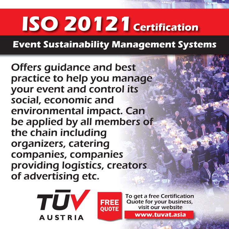 ISO 20121 Certifications. Event Sustainability Management Systems. For further queries: tuvat.asia/get-a-quote, or call Pakistan: (Lahore) +92(42)111-284-284   Pakistan: (Karachi) +92(21)111-284-284   Pakistan: (Islamabad) +92(51)2362980   Bangladesh: +880(2)8836404 to speak with a representative. #ISO #TUV #certification #inspection #pakistan #iso20121 #iso9001 #bangladesh #lahore #karachi #dhaka #energy #efficiency