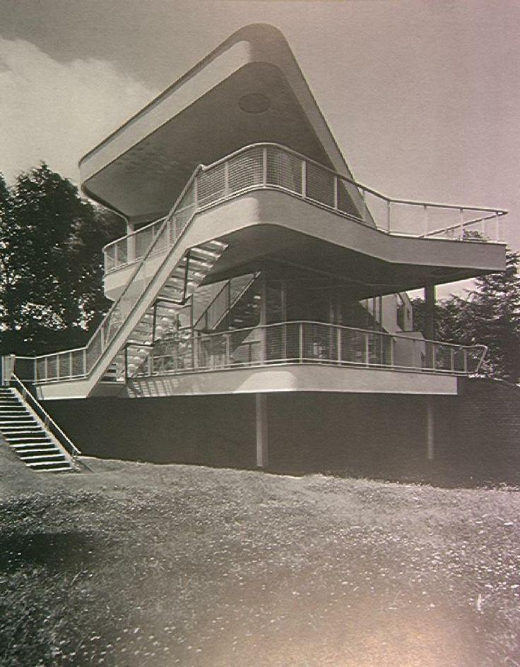 Villa Schminke, Lobau, Germany. Architect: Hans Scharoun, 1933.
