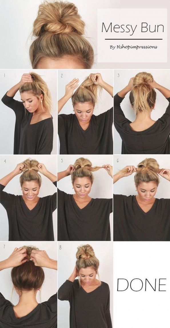 Pin By Aslan Narnia On Style Messy Bun Hairstyles Diy Hairstyles Easy Easy Hairstyles