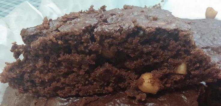 Torta al cioccolato, scorza d'arancia e mandorle!!!