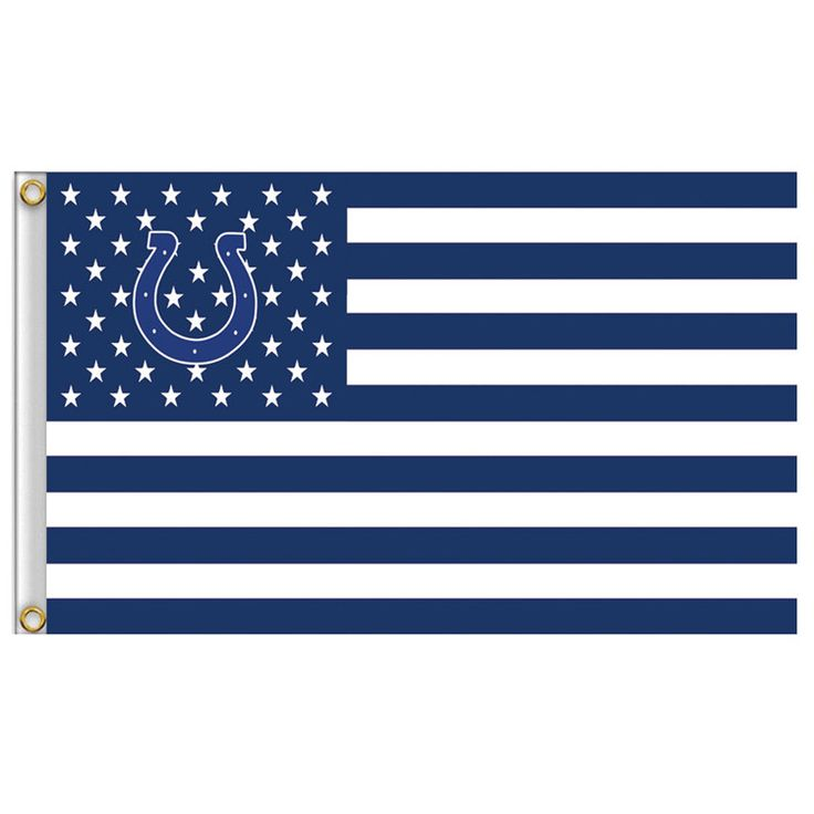 Indianapolis Colts USA Football Flag Indianapolis Colts flag 3x5 FT 150X90CM Banner 100D Polyester