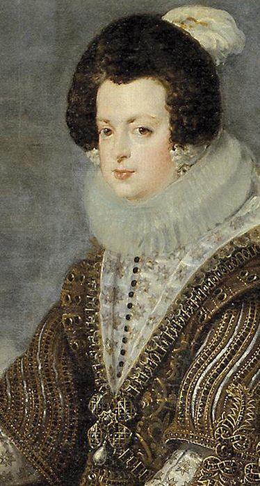 Velázquez, Isabel de Borbón, 1634