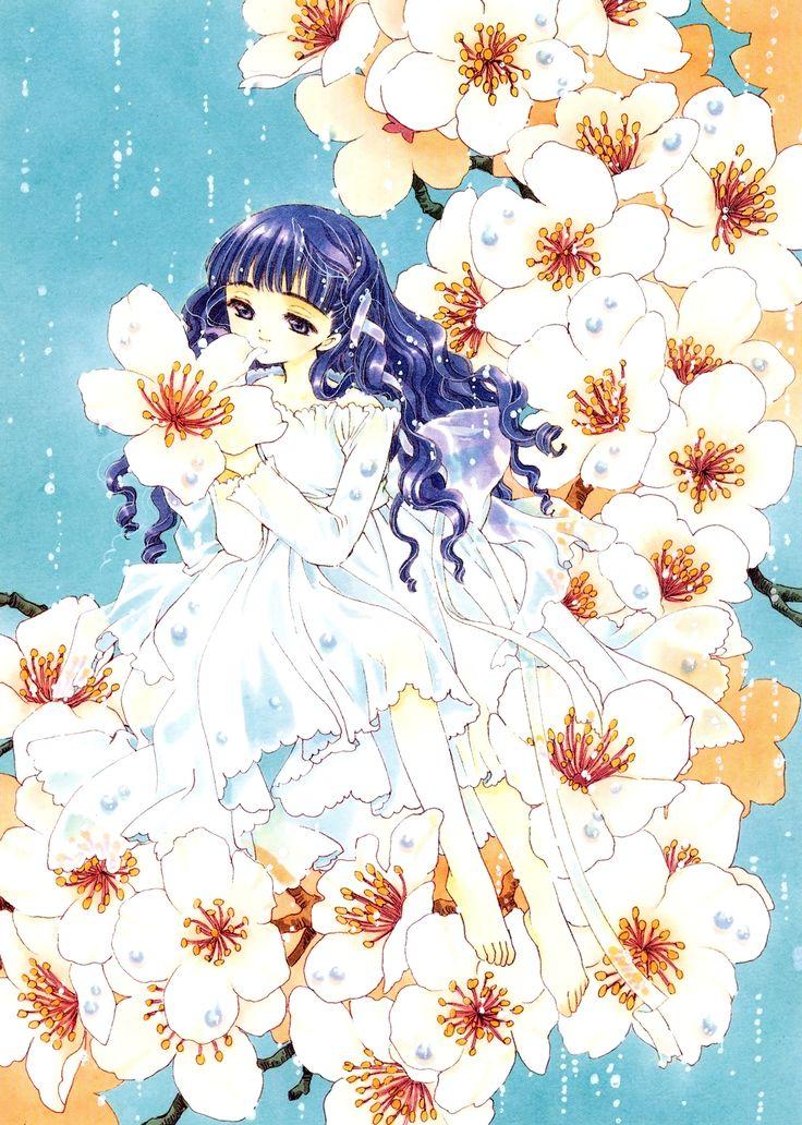 "Tomoyo Daidouji from ""Card Captor Sakura"" series by manga artist group CLAMP."