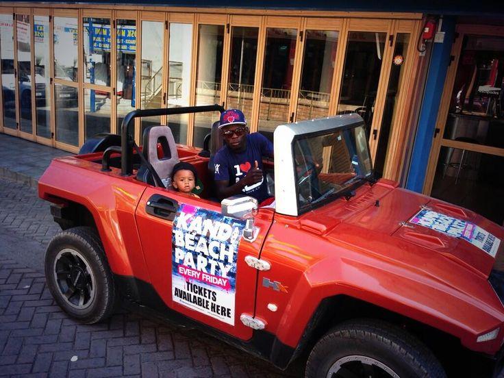MEV HUMMER HX-T Kandi Beach Party Promotional Vehicle