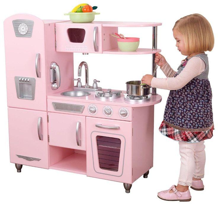 Kidkraft Keuken Grand Gourmet : Vintage KidKraft Kitchen Pink