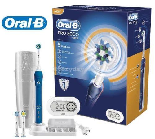 Ulepszona szczoteczka elektryczna Oarl B 5000 Pro: http://spadental.pl/szczoteczka-elektryczna-oral-pro-5000-crossaction-896