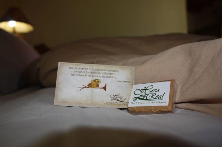 Detalle cortesia Nocturna #hotel #HuertaReal #Mazamitla A descansar....