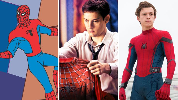 The newest Spidey reboot hits theaters July 6. read more  Source   #Evolve, #Homecoming, #SpiderMan, #Spidey, #Stories, #Super, #Superhero, #Watch
