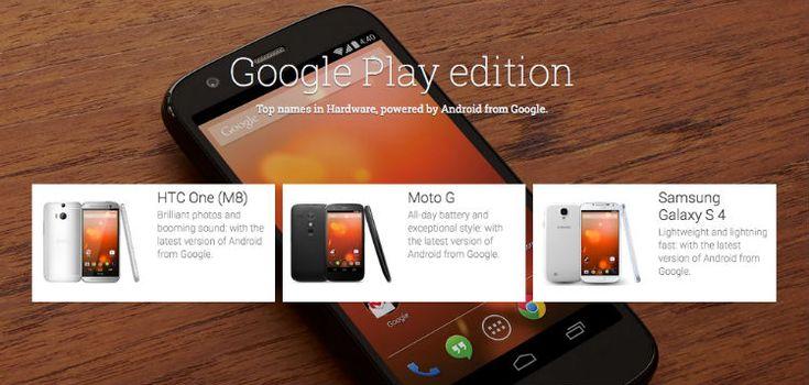 Trei telefoane dispar din lista Google Play Edition :: Gadget24