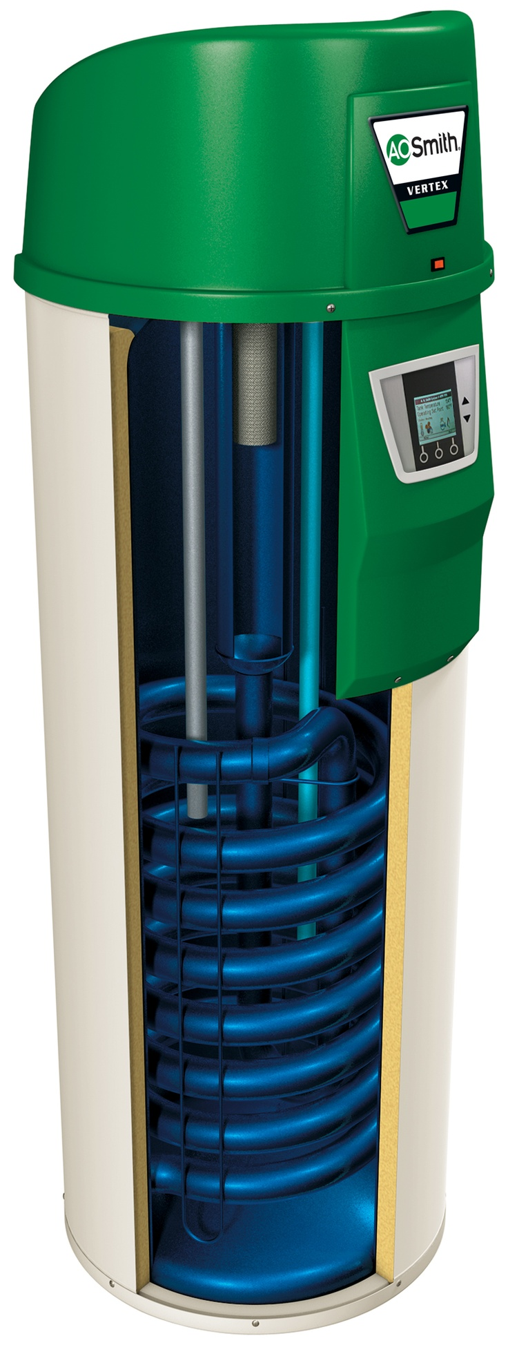 8 best heating cooling plumbing images on pinterest hydronic a cutaway view of the vertex 100 high efficiency hot water heater sciox Choice Image
