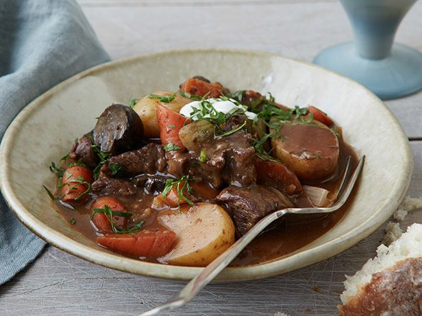 Slow Cooker Beef Stew recipe from Food Network Kitchen via Food Network