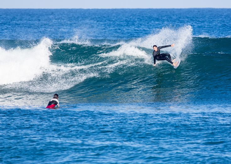 I hope this left just right in front of the @wavetours surfcamp in St.Girons works again this summer!  photo: @patrick_steiner_photo