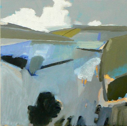 Malcolm Ashman contemporary landscape paintings and drawings