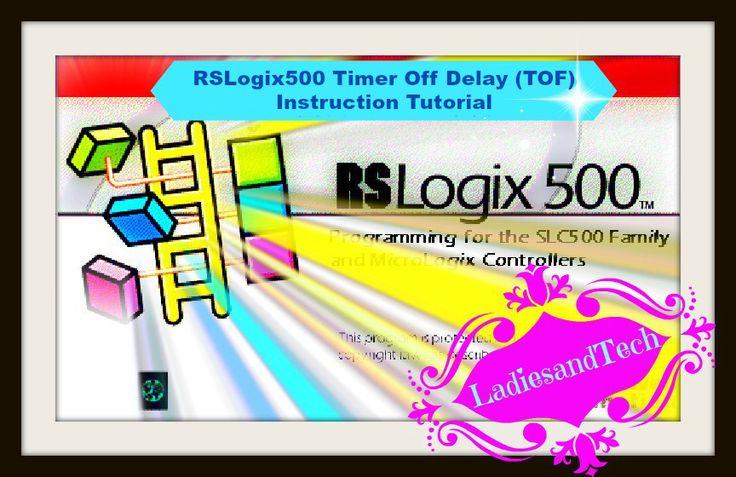 Timer Off (TOF) Instruction RSLOGIX500 Tutorial  #timer #plc tutorial #plc training #how to program a plc #ladderlogic #micrologix #automation #allenbradley #plcproffesor