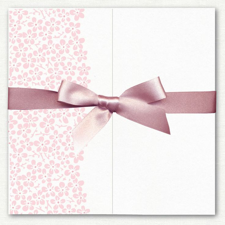 Bloom Pearlescent Gatefold Invitation http ...