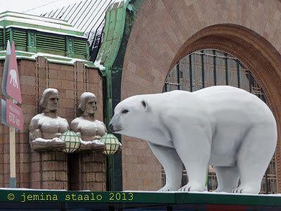 Veden vuosi 2013: Jääkarhuja Helsingin keskustassa osa 1