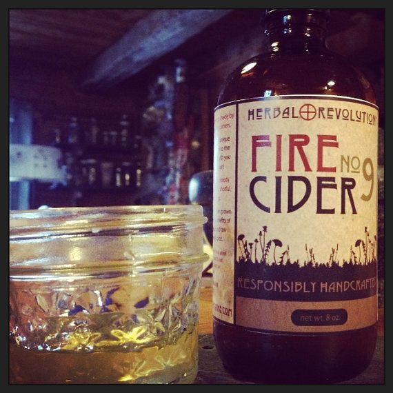 FIRE CIDER no.9 by HerbalRevolution  http://etsy.me/1eqqvTm