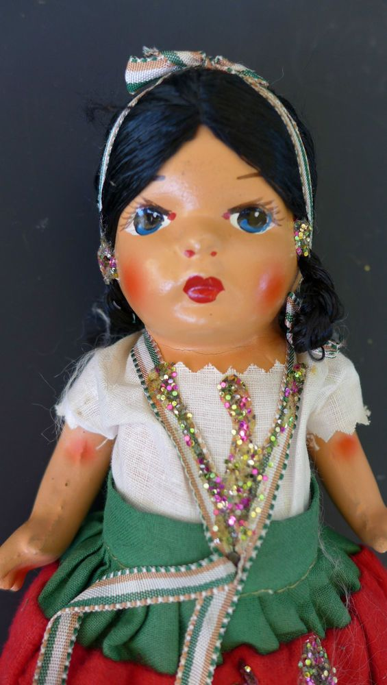 Join. All vintage mexican doll