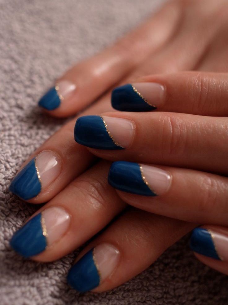 「☆新色ブルーグリーン×アンティークゴールド☆」の画像 パリのネイルサロン Bijoux na…  Ameba (アメーバ)