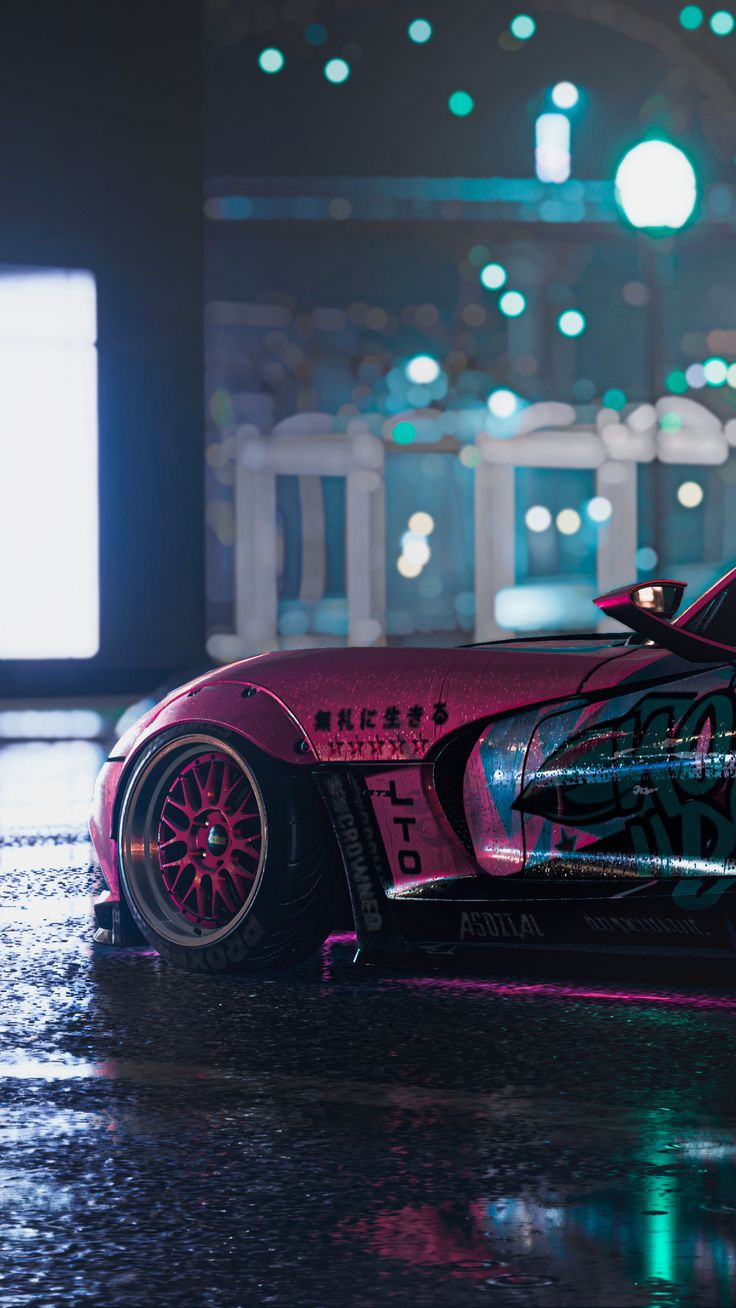 Need For Speed Heat Srt Viper 4k In 1080x1920 Resolution