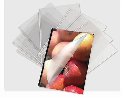 - Spécialement conçu pour la reliure SteelBack - Rainage latéral pour ouverture aisée - Disponible aux formats A4 Portrait, A4 Paysage, A5 Portrait et A3 Paysage         - Boite de 200 pièces pour les formats A4 Portrait, A4 Paysage et A5 Portrait       Boite de 100 pièces pour le formats A3 Paysage