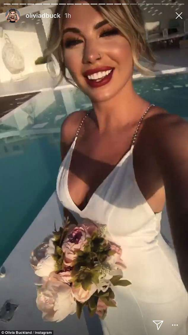 Olivia Buckland Gives Fans A Glimpse Of Her Wedding Style