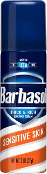 Крем-пена для бритья Barbasol Sensitive Skin Shaving Cream 57 г (51009000256)