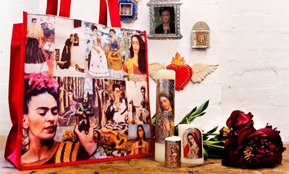 Homewares from Origen - Mexico - winged heart mirror