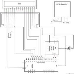 electronic attendance system circuit diagram pdf