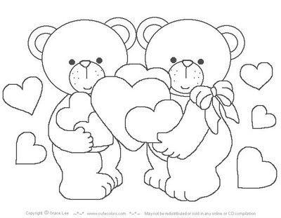 Mejores 7 imágenes de Dia del amor y la amistad para colorear en Pinterest  | Amor, Apliques y Artesanías con papel