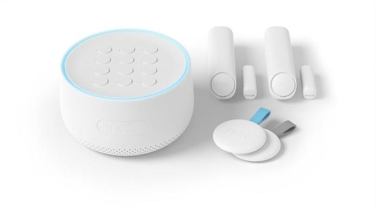 the Nest Secure ($499) is a DIY smart home security system that lets you outfit your home with multi-purpose sensors. They alert you when doors and windows are opened and closed and when motion is detected. The system has a built-in siren to ward off intruders, and integrates easily with the company's cameras and a handful of third-party devices. But it's quite expensive, and lacks some of the features you get with our Editors' Choice, the more affordable Abode Home Security Starter Kit.