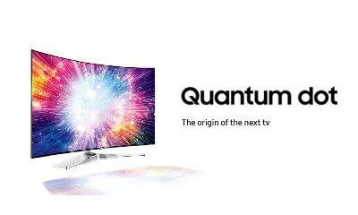 Samsung SUHD TV with Quantum dot display. This is TV.