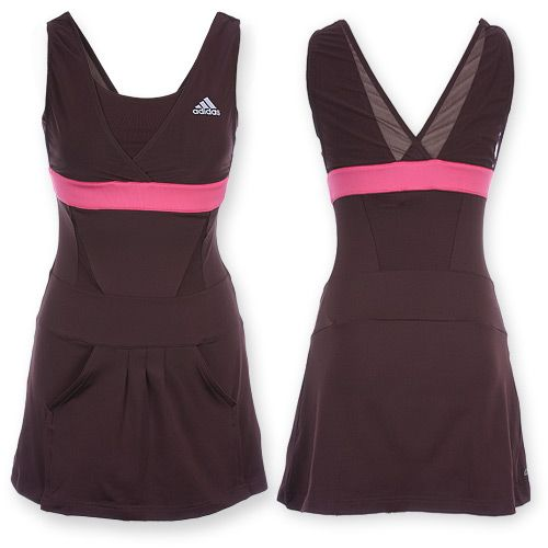 a tennis dress with pockets in front