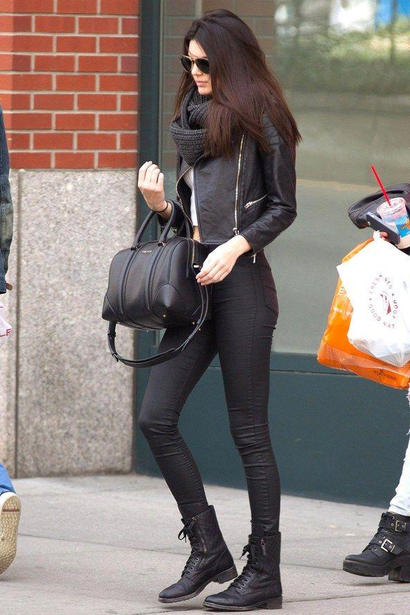 Kendal Jenner via Glamour UK http://www.glamourmagazine.co.uk/fashion/celebrity-fashion/2014/01/kendall-jenner-style-fashion-sisters-kylie-jenner#!image-number=2