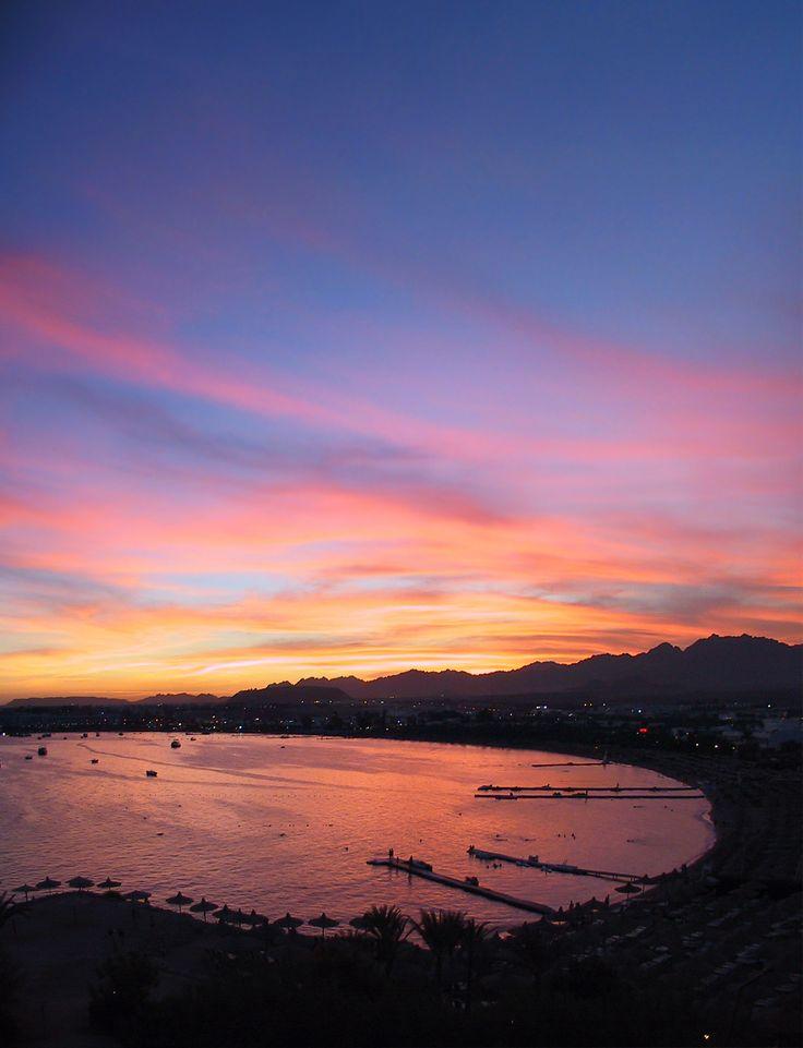 Sharm el-Sheikh sunset, Egypt